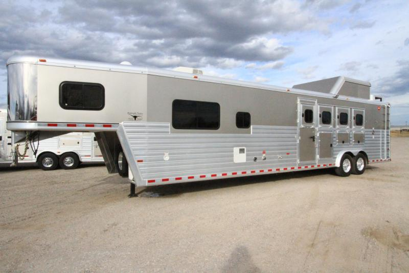 D And D Trailers >> 2017 Hart Tradition 4h 14 Sw Side Load Trailer