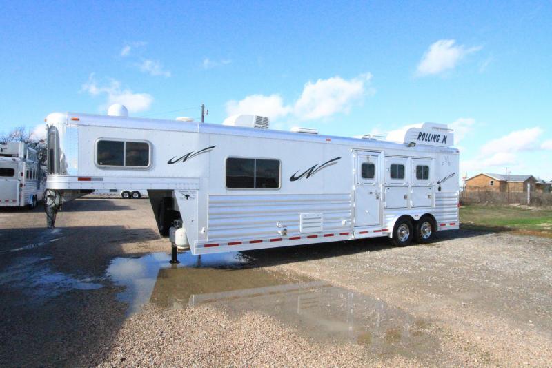 2014 Platinum Coach 3H 11' SW LQ Horse Trailer