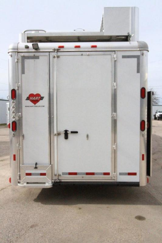 """2019 Hart Tradition 4H 16'6"""" Outlaw LQ Horse Trailer w/Slide Out"""
