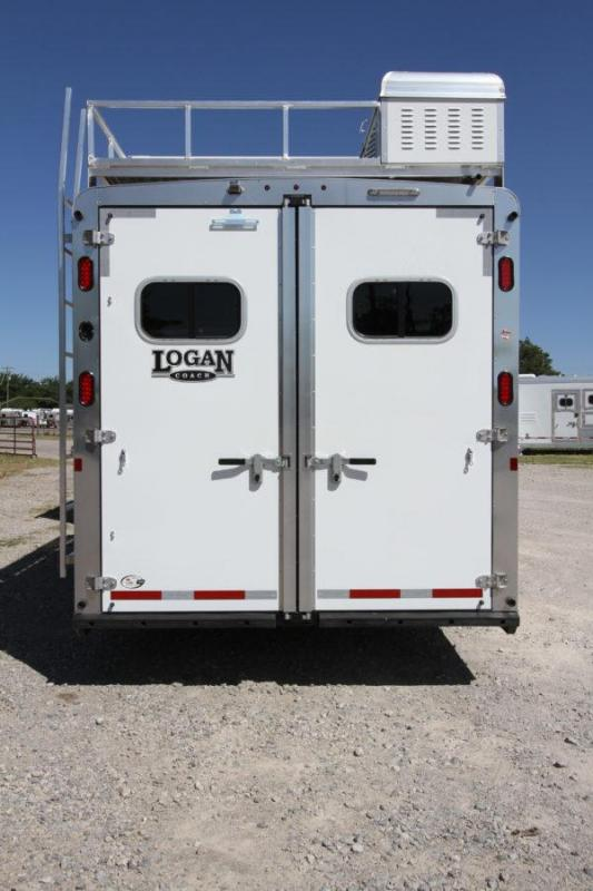 2019 Logan Coach Limited 4H 14' SW Horse Trailer w/Slideout