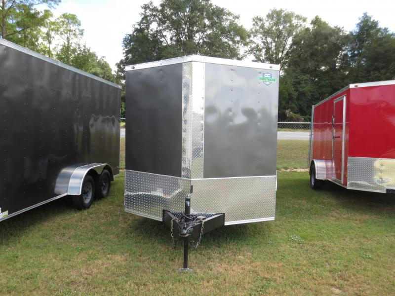 2019 7x16 Tandem Axle Enclosed Cargo Trailer w/sidevents