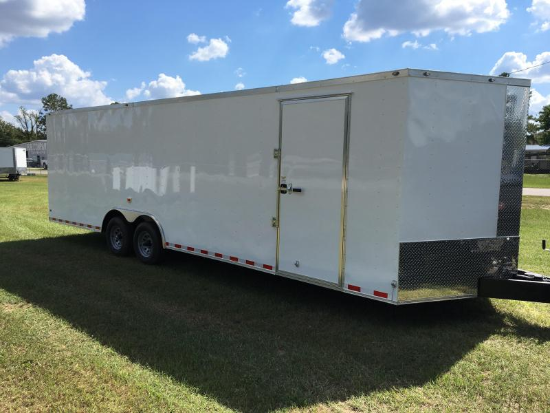 8.5X26 Tandem Axle Enclosed Cargo Trailer