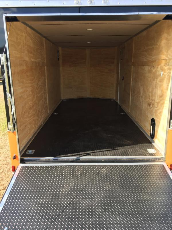 2019 Anvil 7x16 Tandem Axle Motorcycle Trailer