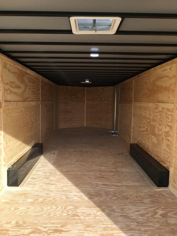 2019 8.5X28 Tandem Axle Enclosed Cargo Trailer