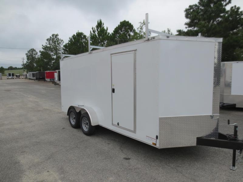 7x16 Tandem Axle Enclosed Cargo Trailer