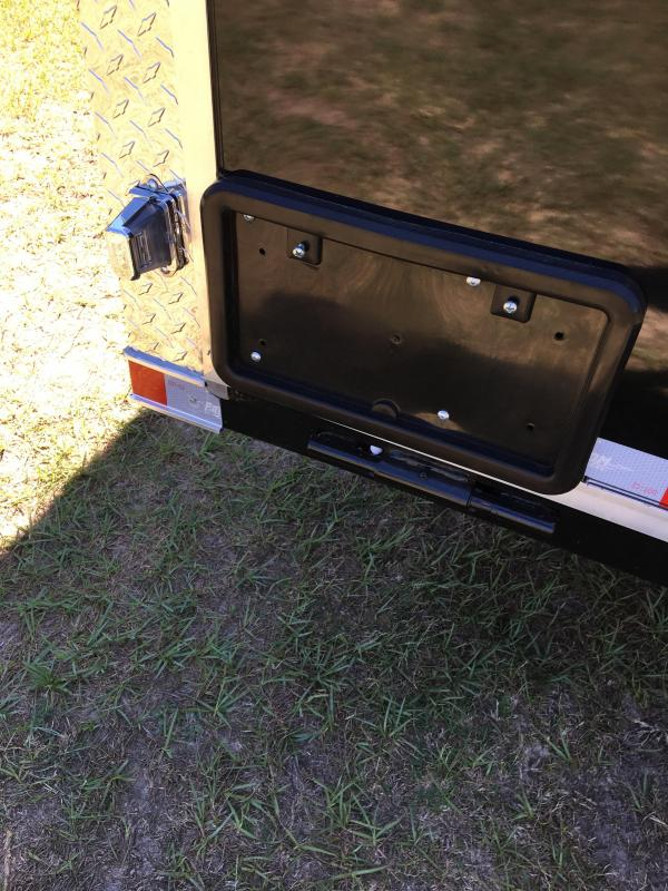 2019 8.5X28 Tandem Axle Enclosed Cargo Trailer