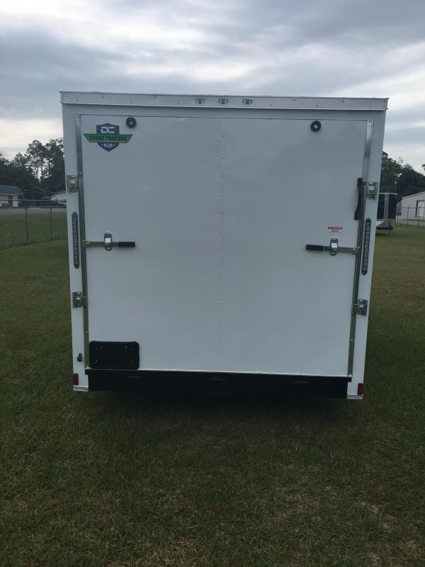 2019 7X16 Tandem Axle Enclosed Cargo Trailer