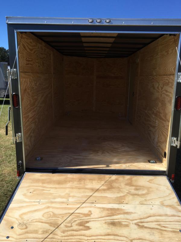 7x14 TA Enclosed Cargo Trailer