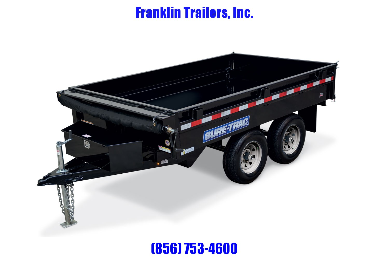 2020 Sure-Trac 72 IN X 10 Deckover Dump 10K Single Ram 2021272