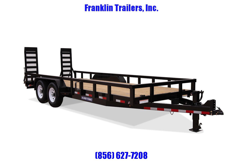 2020 Sure-Trac 7 x 18 Equipment Trailer  14K  STOCK # 2022245