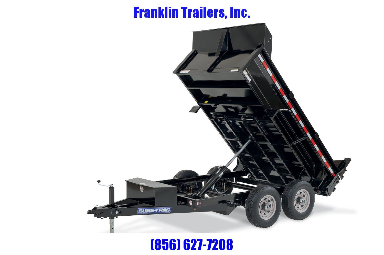 2020 Sure-Trac 72 IN x 10 LProfile 10K Single Ram Dump 2021578