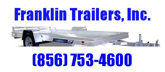 2021 Aluma 7810ES Utility Trailer  STOCK# 2022100