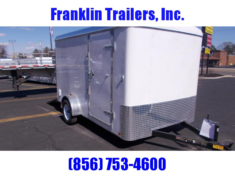 2019 Carry-On 7X12 Enclosed Cargo Trailer 2020379