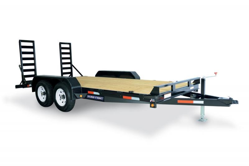 2020 Sure-Trac 7 x 18 Equipment Trailer  14K 2021376