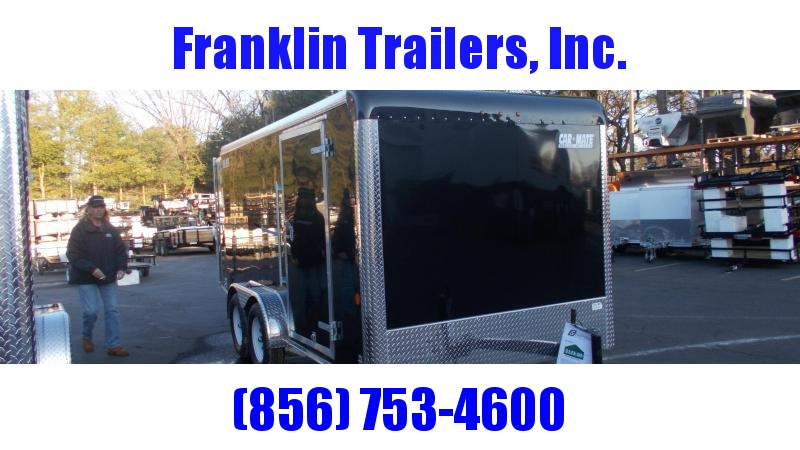 2020 Car Mate  7X14 Enclosed Cargo Trailer 2022007
