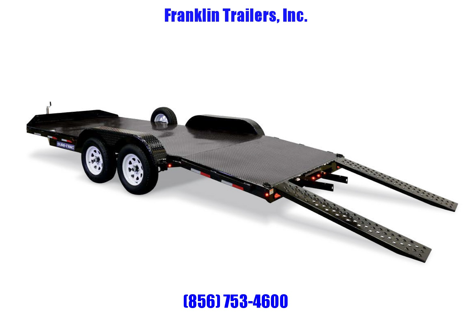 2019 Sure-Trac 7 x 18 Steel Deck Car Hauler  7k 2020823