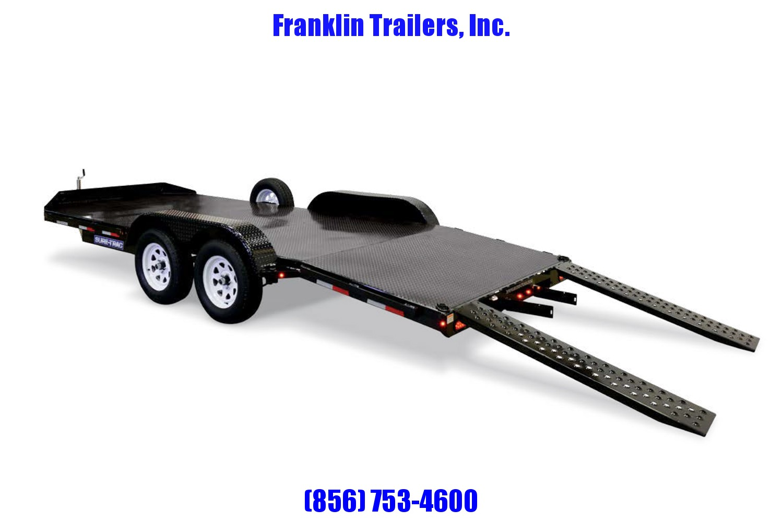 2019 Sure-Trac 7 x 18 Steel Deck Car Hauler  7k 2020823