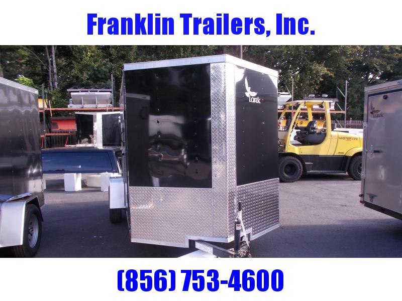 2019 Lark 6X12 Used Enclosed Cargo Trailer 2021176