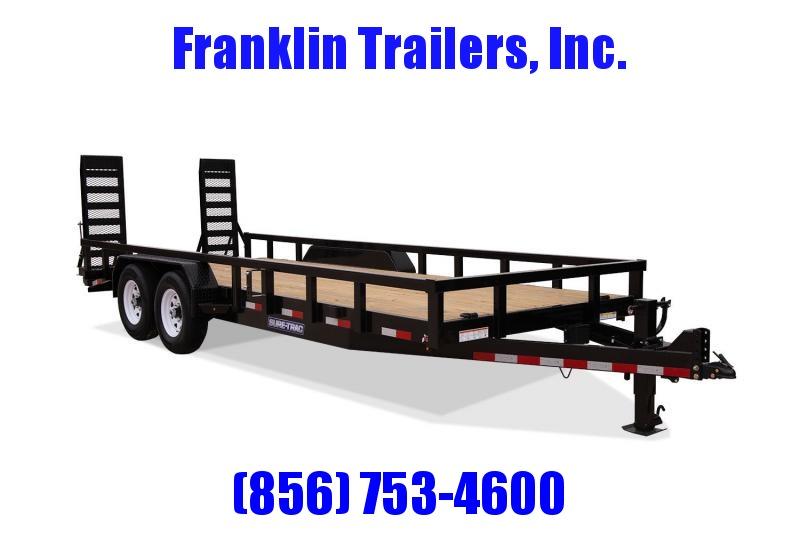 2020 Sure-Trac 7 x 18 Equipment Trailer  14K 2021865