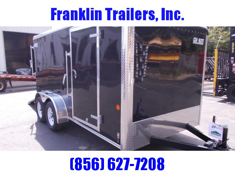 2020 Car Mate 7X14 Tandem Axle Enclosed Cargo Trailer 2021076