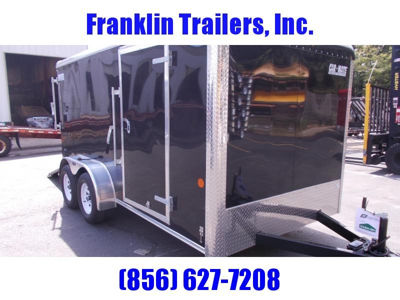 2020 Car Mate 7X14 Tandem Axle Enclosed Cargo Trailer 2021076
