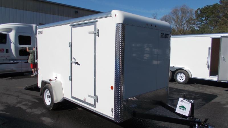 2020 Car Mate 6X12 Enclosed Cargo Trailer 2022189