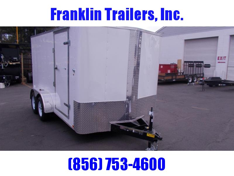 2019 Carry-On 7X14 Bull Nose Enclosed Cargo Trailer 2020349
