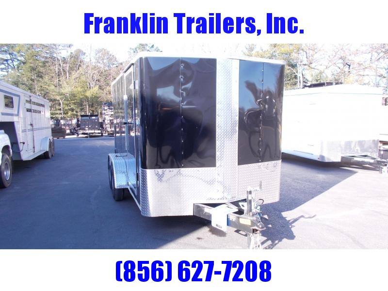 2019 Carry-On 7X14 Bull Nose Enclosed Cargo Trailer 2019876