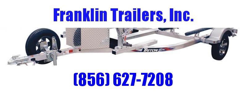 2020 Triton EWCII Aluminum Double Jetski Trailer 2022226