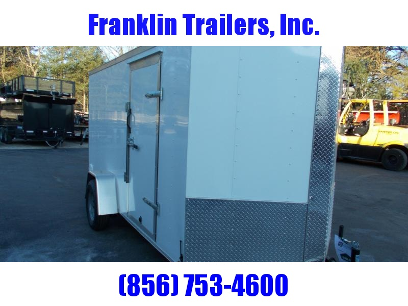 2020 Lark 6X12 Enclosed Cargo Trailer 2021421