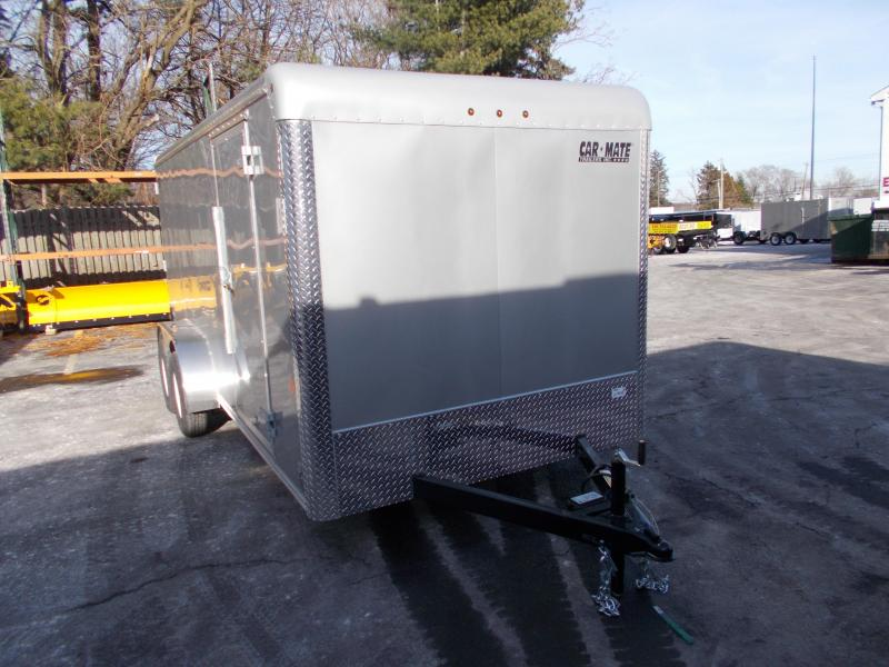 2020 Car Mate Trailers CM716EC-HD Tandem Axle Enclosed Cargo Trailer