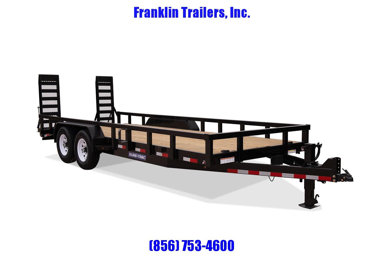 2020 Sure-Trac 7 x 18 Equipment Trailer  14K 2021148