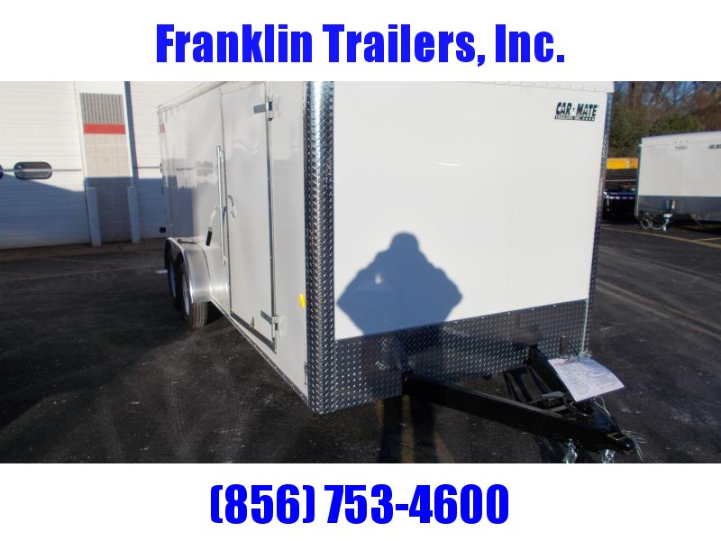 2020 Car Mate Trailers 7x18 - 7'W Tandem Axle Enclosed Cargo Trailer 2021360