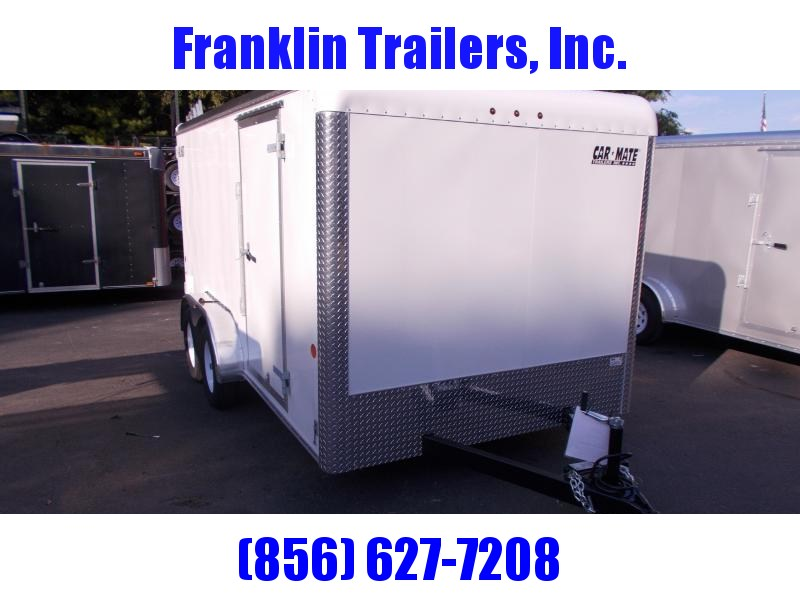 2020 Car Mate 7x14 Enclosed Cargo Trailer 2021053