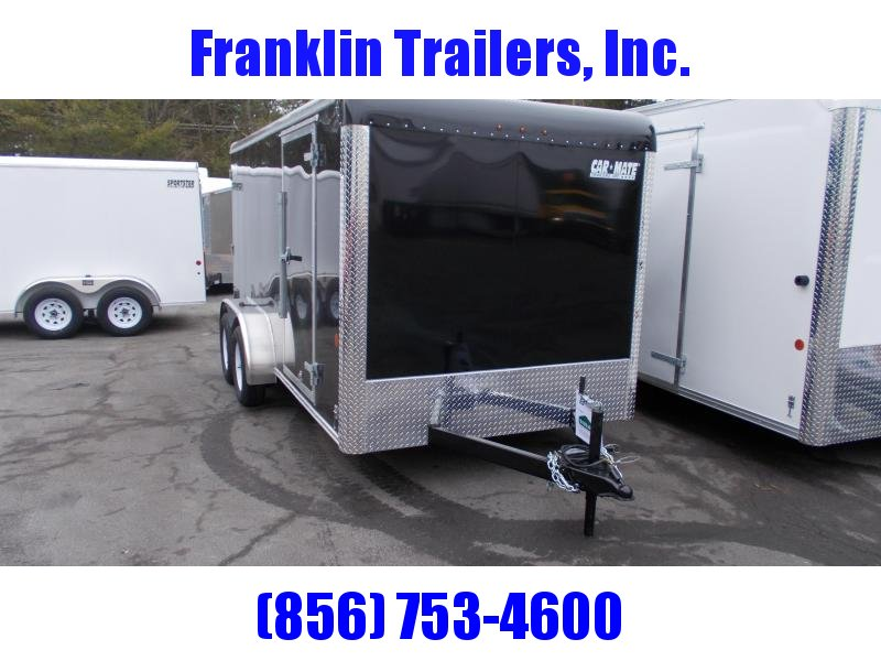 2020 Car Mate 7X14 Tandem Axle Enclosed Cargo Trailer 2021463