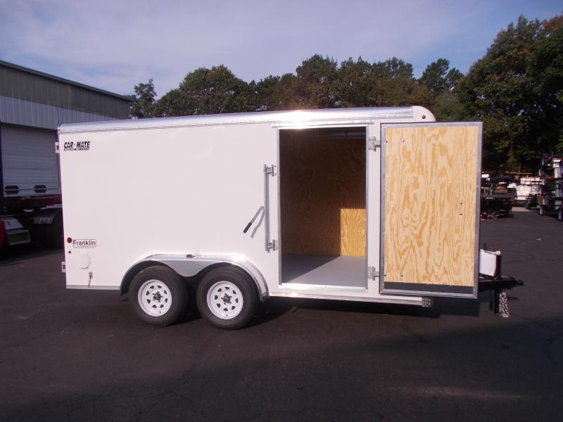 2020 Car Mate 7x14 Enclosed Cargo Trailer 2021047