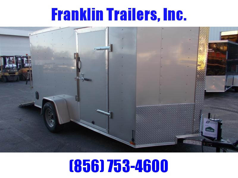 2020 Lark 6X12 Enclosed Cargo Trailer 2021419