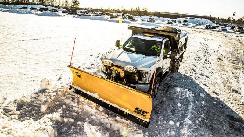 2019 Fisher Engineering HC Snow Plow