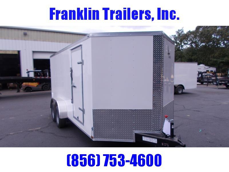 2020 Lark 7 X 16 Enclosed Cargo Trailer 2021085