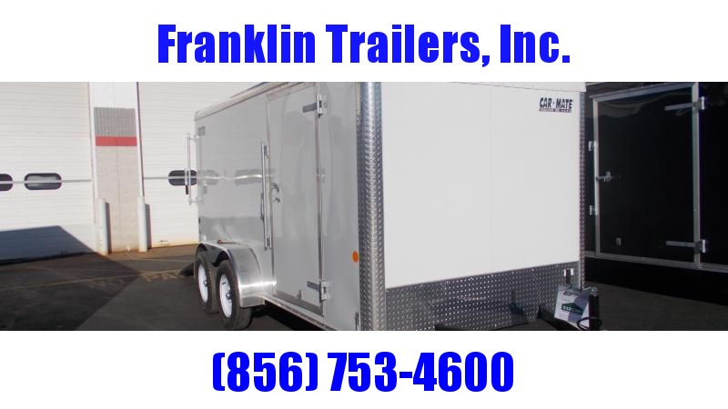 2020 Car Mate 7X14 Tandem Axle Enclosed Cargo Trailer 2021962