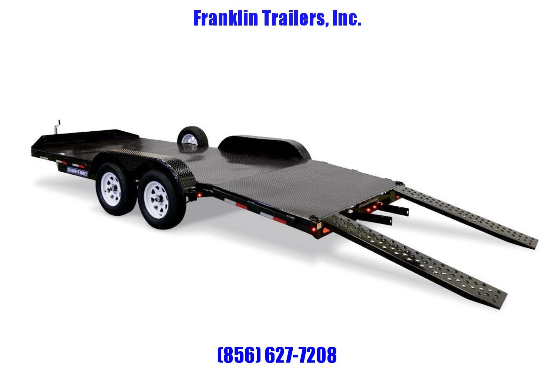 2019 Sure-Trac 7 x 18 Steel Deck Car Hauler  7k 2020604
