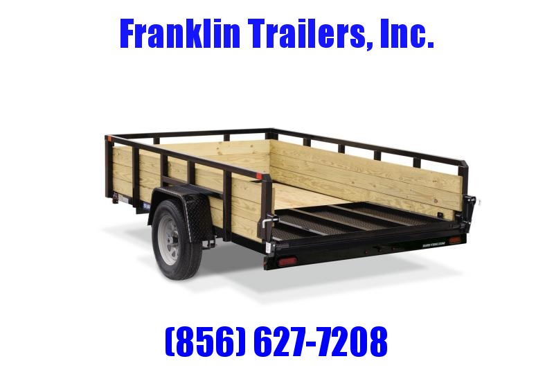 2020 Sure-Trac 6 X 10 3-Board High Side Tube Top Utility Trailer 2020847