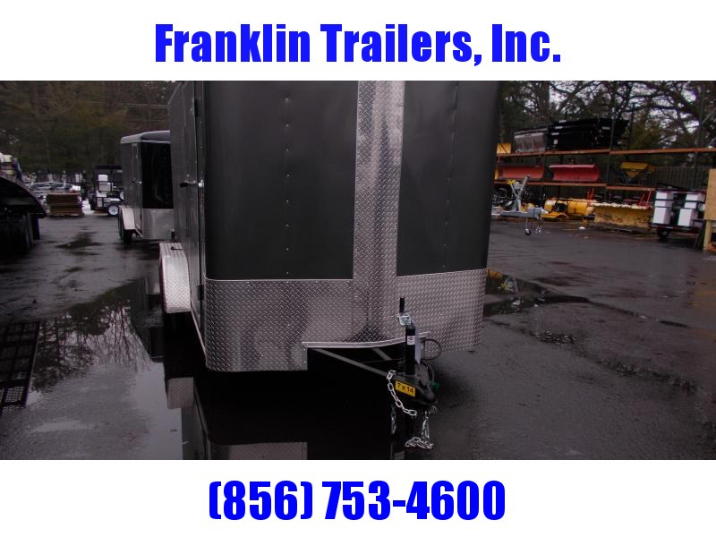 2019 Carry-On 7X14 Bull Nose Enclosed Cargo Trailer 2019936