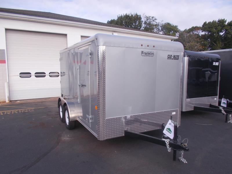 2020 Car Mate Trailers 7X12 - 7W Tandem Axle Custom Cargo Trailer Enclosed Cargo Trailer 2021154