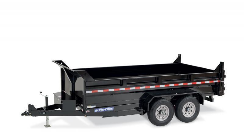 2020 Sure-Trac 82 IN X 12 LProfile 12K Dual Ram Dump 2021528