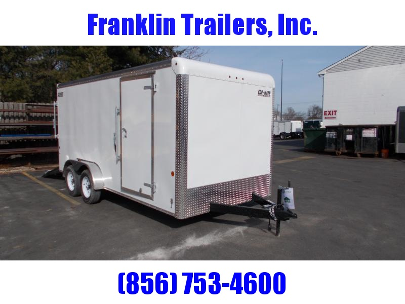 2020 Car Mate Trailers CM716CC-HD - 7'W Tandem Axle Custom Cargo Trailer Enclosed Cargo Trailer