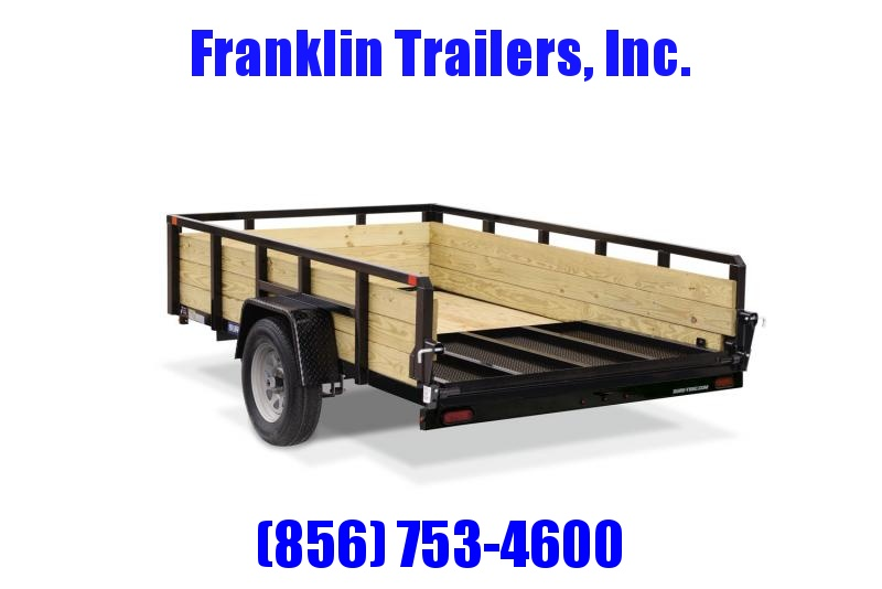 2020 Sure-Trac 5 X 10 Tube Top Three Board 3K Utility Trailer 2021520