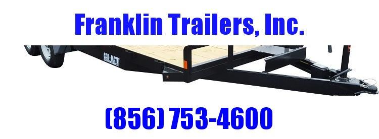 2020 Car Mate Trailers CM818A-CT/W Full Treated Plank Deck Car / Racing Trailer 2021757