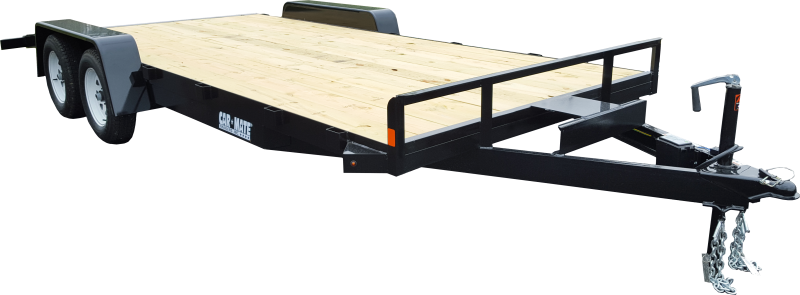 2020 Car Mate Trailers CM818A-CT/W Full Treated Plank Deck Car / Racing Trailer 2021757