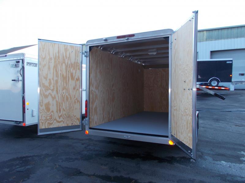 2020 Car Mate 6X12 Enclosed Cargo Trailer 2021440